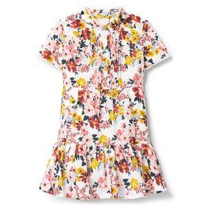 NWT Janie & Jack Floral Bloom Dress 12-18m
